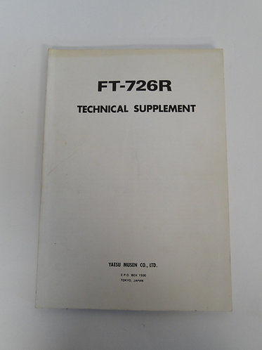 Yaesu FT-726R Technical Supplement