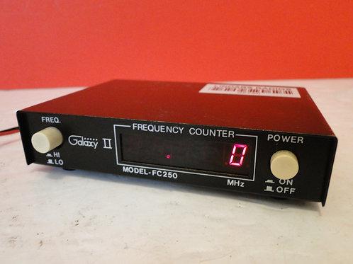 GALAXY II MODEL FC250 FREQEUNCY COUNTER  SN 000161