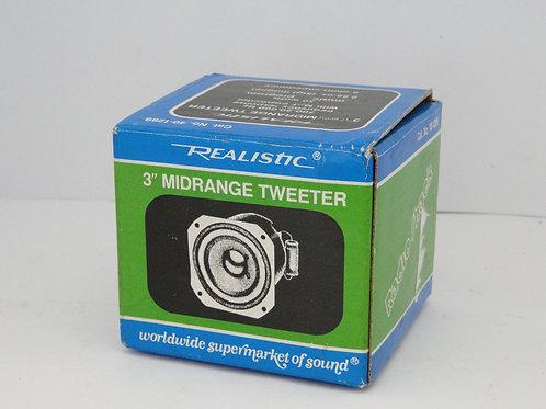 "Realistic 3"" Midrange Tweeter"