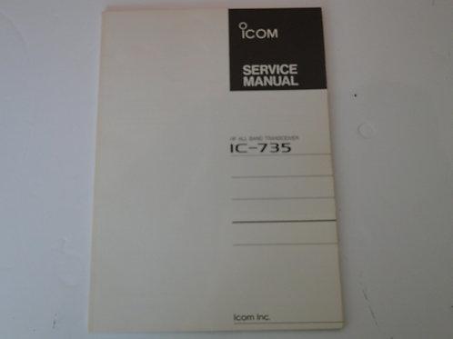 ICOM IC-735 SERVICE MANUAL