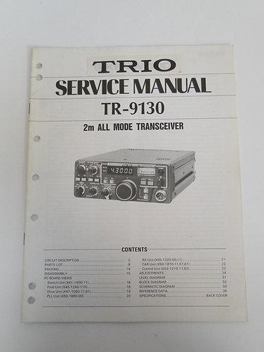 Trio TR-9130 Service Manual