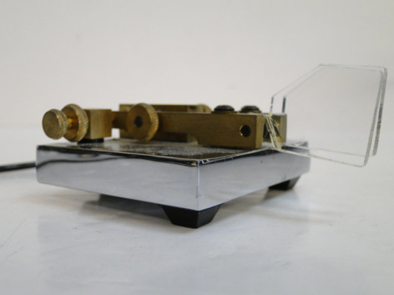 Vibroplex Lite Warrior iambic paddle key