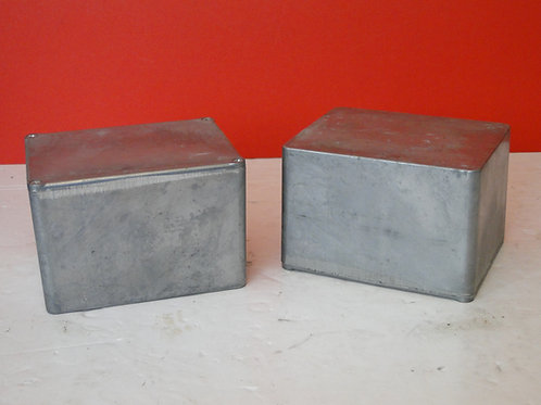 PROJECT BOXES x 2  12 x 9 x 8cm