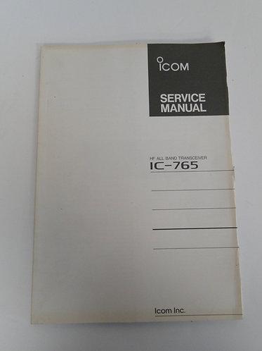 IcomIC-765 Service Manual