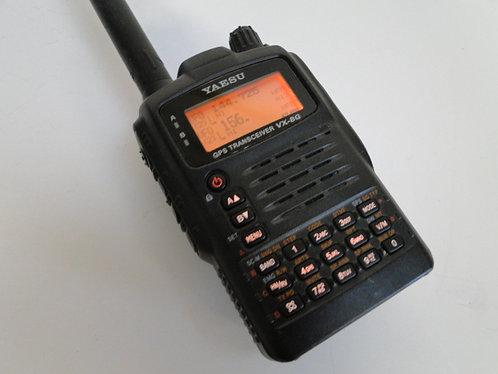 YAESU VX-8GE DUAL BAND FM TRANSCEIVER WITH GPS