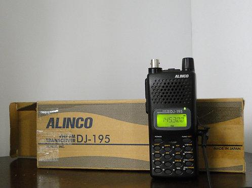 ALINCO DJ-195 VHF FM HANDHELD TRANSCEIVER