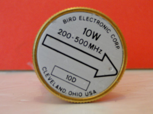 BIRD ELEMENT SLUG 10W  200-500MHz 10D