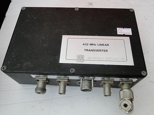 MM 432 MHz LINEAR TRANSVERTER