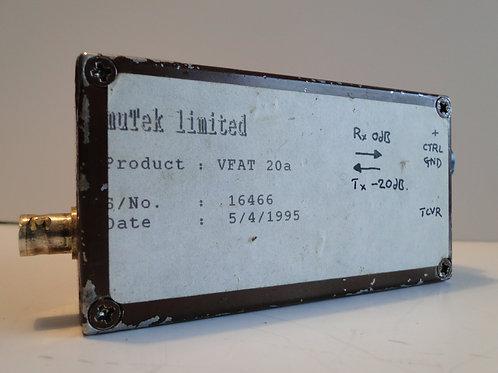 muTek  Limited VFAT 20a attenuator bnc