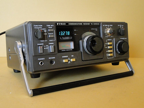 TRIO R-1000 COMMUNICATIONS RECEIVER SN 1012378