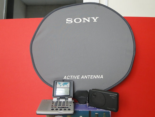 SONY ICF-SW07 RECEIVER WORLDBAND + active antenna