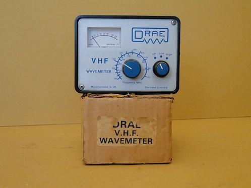 DRAE VHF WAVEMETER