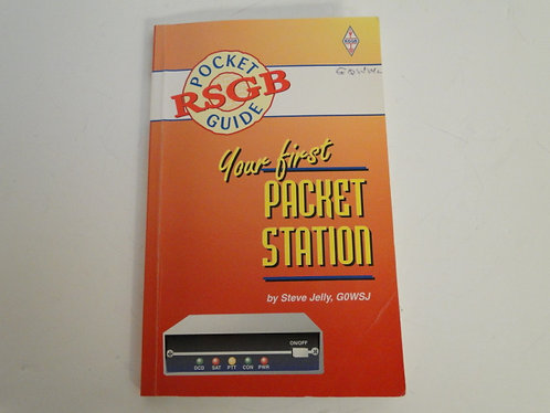 Your first packet station, pocket guide rsgb by steve jelly G0WSJ