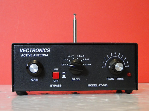 VECTRONICS ACTIVE ANTENNA MODEL AT-100