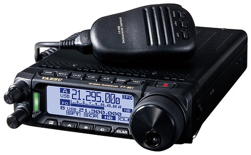 Yaesu FT-891 HF/50 MHz 100W All Mode Transceiver