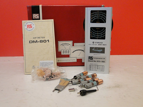RS TRIO DIP METER DM-801  SN 4070120