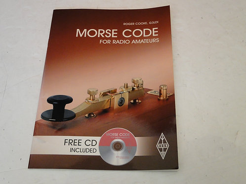 MORSE CODE FOR RADIO AMATEURS, ROGER COOKE, G3LDI