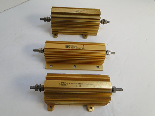 3 power resistors