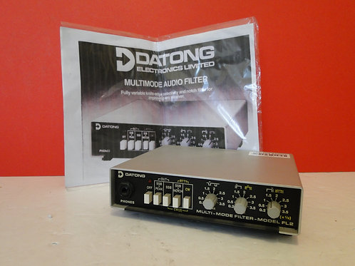 DATONG MULTI-MODE FILTER  MODEL FL2  SN 9041/2 WITH MANUAL