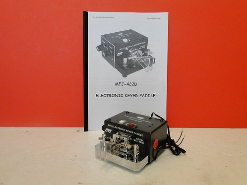 MFJ-422D ELECTRONIC KEYER PADDLE