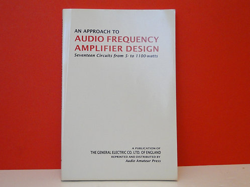 An Approach to Audio Frequency Amplifier Design