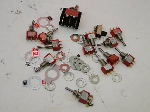 TOGGLE SWITCHES  JOB LOT