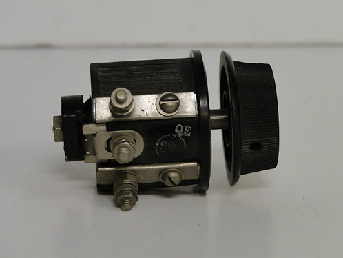 Berco london 1920's linear potentiometer with knob 640ohm