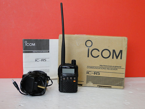 ICOM IC-R5 COMMUNICATIONS RECEIVER  SN 0309784