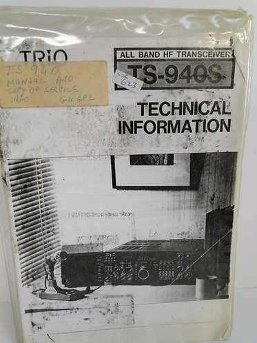Trio TS-94OS Technical Information (Copy)