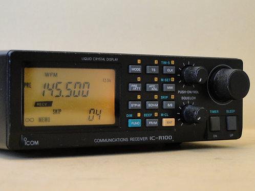 ICOM IC-R100 COMMUNICATIONS RECEIVER SN 02164