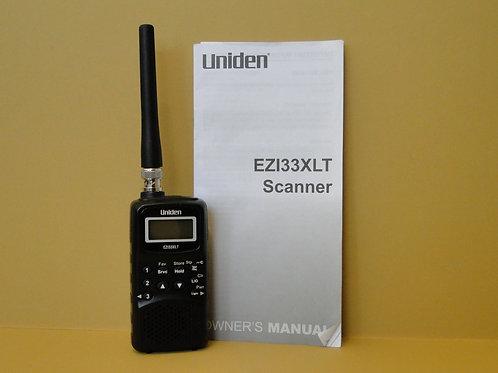 UNIDEN EZ133XLT SCANNER SN 48100740