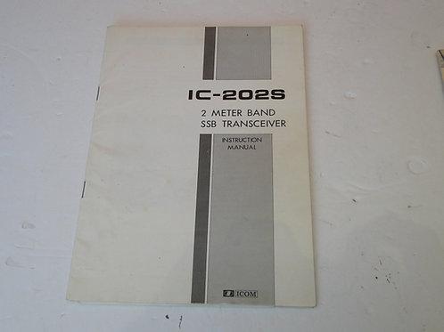 ICOM IC-202S MANUAL