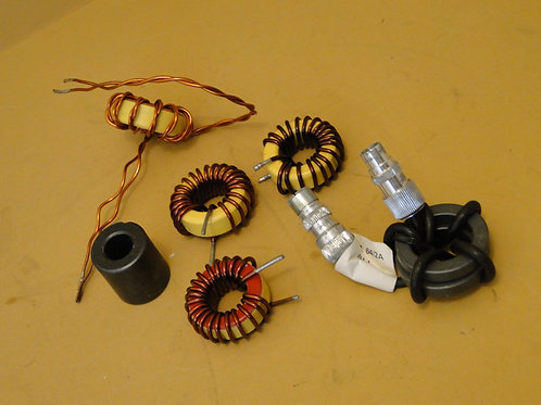 COLLECTION OF FERRITE RING COILS