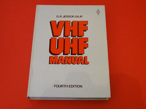 VHF UHF MANUAL, G.R.JESSOP 4TH EDITION