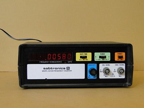 SABTRONICS MODEL 8610B FREQUENCY COUNTER