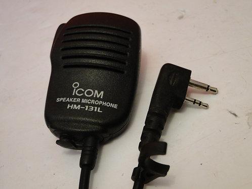 ICOM HM-131L SPEAKER MICROPHONE, 2 PIN