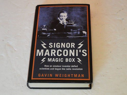 SIGNOR MARCONI'S MAGIC BOX, GAVIN WEIGHTMAN