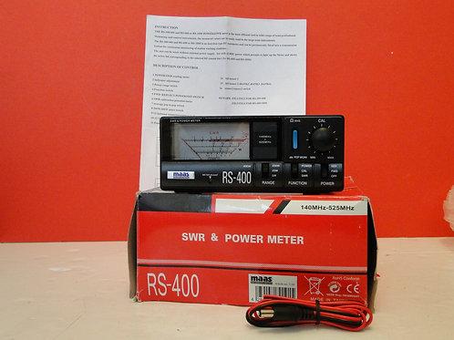 MAAS RS-400 SWR & POWER METER