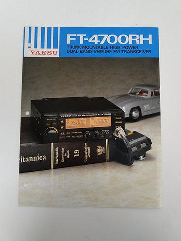 Yaesu FT-4700RH Brochure