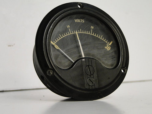 Black volt meter US Army Type B-1