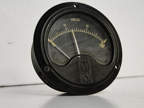 Black volt meter US Army Type B-1