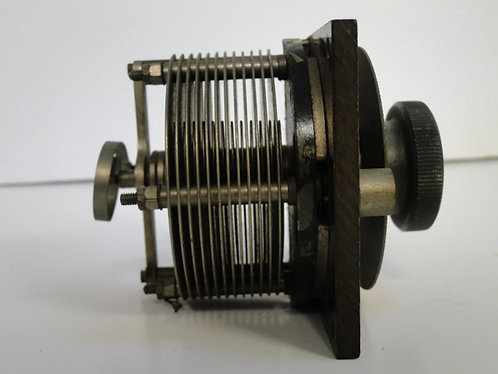 AIR SPACED VARIABLE CAPACITOR TUNING DIAL