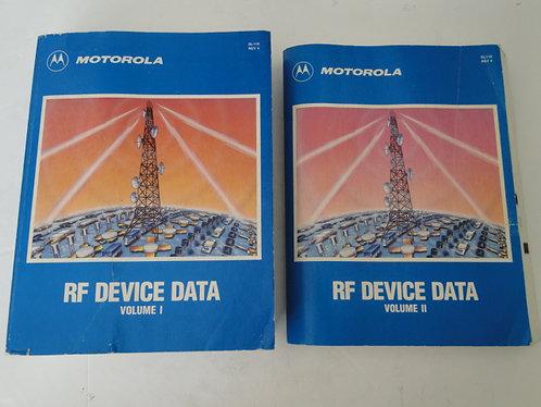 MOTOROLA RF DEVICE DATA VOL 1 & VOL 2