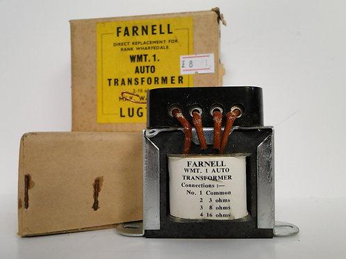 Farnell WMT.1. Auto Transformer