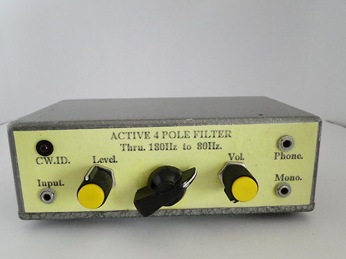 Active 4 Pole Filter home made ?