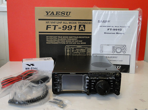YAESU FT-991A HF/VHF/UHF ALL MODE TRANSCEIVER