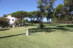 Garden to front of villa 3