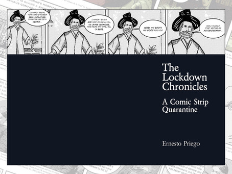 New Distro title! The Lockdown Chronicles by Ernesto Priego joins the Good Distribution Roster