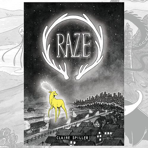 RAZE front cover