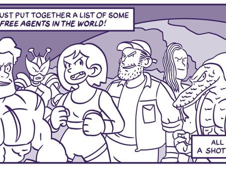 Good Comics Podcast: Episode 2 - Josh Hicks